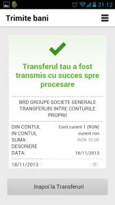 MyBRD transfer finalizat